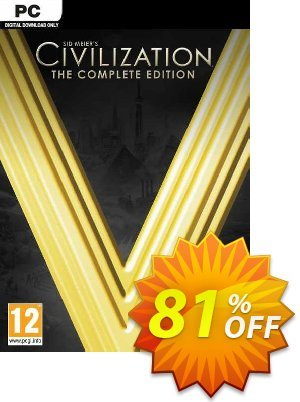 Sid Meier's Civilization V 5 - The Complete Edition PC Coupon, discount Sid Meier's Civilization V 5 - The Complete Edition PC Deal. Promotion: Sid Meier's Civilization V 5 - The Complete Edition PC Exclusive offer for iVoicesoft