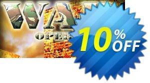 War Operations PC割引コード・War Operations PC Deal キャンペーン:War Operations PC Exclusive offer for iVoicesoft
