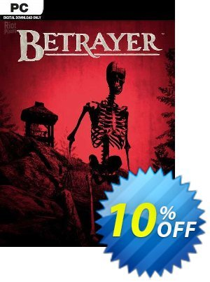 Betrayer PC 優惠券,折扣碼 Betrayer PC Deal,促銷代碼: Betrayer PC Exclusive offer for iVoicesoft