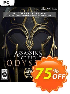 Assassin's Creed Odyssey - Ultimate Edition PC discount coupon Assassin's Creed Odyssey - Ultimate Edition PC Deal - Assassin's Creed Odyssey - Ultimate Edition PC Exclusive offer for iVoicesoft