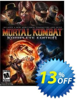 Mortal Kombat Komplete Edition PC Coupon discount Mortal Kombat Komplete Edition PC Deal