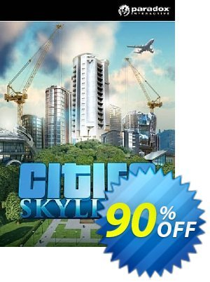 Cities: Skylines PC/Mac discount coupon Cities: Skylines PC/Mac Deal - Cities: Skylines PC/Mac Exclusive offer for iVoicesoft