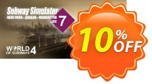World of Subways 4 – New York Line 7 PC Coupon discount World of Subways 4 – New York Line 7 PC Deal. Promotion: World of Subways 4 – New York Line 7 PC Exclusive offer for iVoicesoft