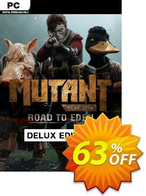 63 Off Mutant Year Zero Road To Eden Deluxe Edition Pc Coupon Code Nov 2020 Ivoicesoft