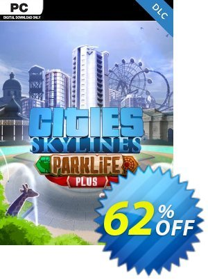 Cities Skylines - Parklife Plus DLC discount coupon Cities Skylines - Parklife Plus DLC Deal - Cities Skylines - Parklife Plus DLC Exclusive offer for iVoicesoft