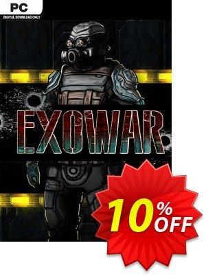 Exowar PC 優惠券,折扣碼 Exowar PC Deal,促銷代碼: Exowar PC Exclusive offer for iVoicesoft
