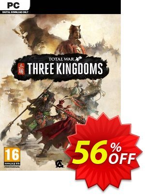 Total War: Three Kingdoms PC (US) 優惠券,折扣碼 Total War: Three Kingdoms PC (US) Deal,促銷代碼: Total War: Three Kingdoms PC (US) Exclusive offer for iVoicesoft
