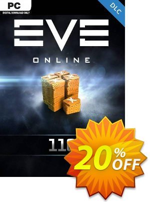 EVE Online - 110 Plex Card PC discount coupon EVE Online - 110 Plex Card PC Deal - EVE Online - 110 Plex Card PC Exclusive offer for iVoicesoft