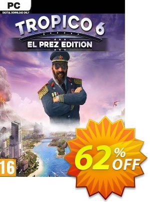 Tropico 6 El Prez Edition PC (AUS/NZ) 優惠券,折扣碼 Tropico 6 El Prez Edition PC (AUS/NZ) Deal,促銷代碼: Tropico 6 El Prez Edition PC (AUS/NZ) Exclusive offer for iVoicesoft