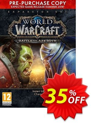 World of Warcraft (WoW) Battle for Azeroth - PC (EU) Coupon, discount World of Warcraft (WoW) Battle for Azeroth - PC (EU) Deal. Promotion: World of Warcraft (WoW) Battle for Azeroth - PC (EU) Exclusive offer for iVoicesoft