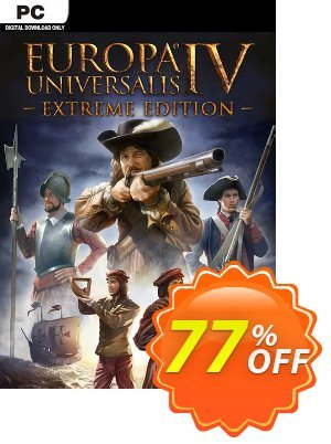 Europa Universalis IV 4 Extreme Edition PC discount coupon Europa Universalis IV 4 Extreme Edition PC Deal - Europa Universalis IV 4 Extreme Edition PC Exclusive offer for iVoicesoft