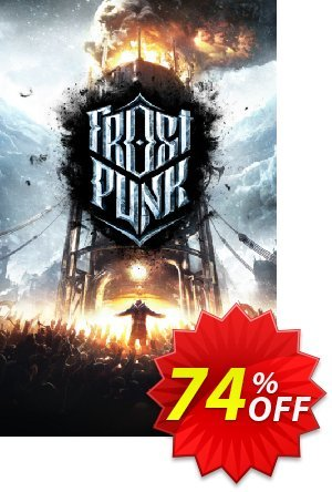 Frostpunk PC Coupon, discount Frostpunk PC Deal. Promotion: Frostpunk PC Exclusive offer for iVoicesoft