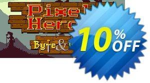 Pixel Heroes Byte & Magic PC 優惠券,折扣碼 Pixel Heroes Byte & Magic PC Deal,促銷代碼: Pixel Heroes Byte & Magic PC Exclusive offer for iVoicesoft