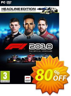 F1 2018 Headline Edition PC Coupon, discount F1 2020 Headline Edition PC Deal. Promotion: F1 2020 Headline Edition PC Exclusive offer for iVoicesoft