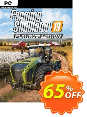 Farming Simulator 19 - Platinum Edition PC discount coupon Farming Simulator 19 - Platinum Edition PC Deal - Farming Simulator 19 - Platinum Edition PC Exclusive offer for iVoicesoft