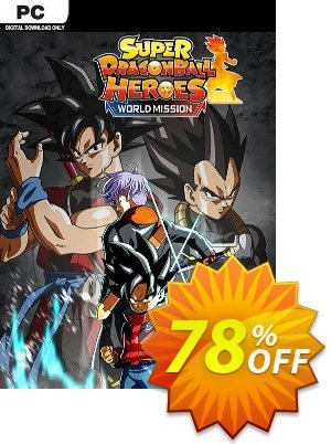 Super Dragon Ball Heroes World Mission PC 프로모션 코드 Super Dragon Ball Heroes World Mission PC Deal 프로모션: Super Dragon Ball Heroes World Mission PC Exclusive offer for iVoicesoft