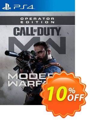 Call of Duty Modern Warfare: Operator Edition PS4 (EU) Coupon, discount Call of Duty Modern Warfare: Operator Edition PS4 (EU) Deal. Promotion: Call of Duty Modern Warfare: Operator Edition PS4 (EU) Exclusive offer for iVoicesoft