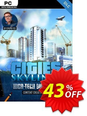 Cities Skylines - Content Creator Pack High-Tech Buildings DLC discount coupon Cities Skylines - Content Creator Pack High-Tech Buildings DLC Deal - Cities Skylines - Content Creator Pack High-Tech Buildings DLC Exclusive offer for iVoicesoft