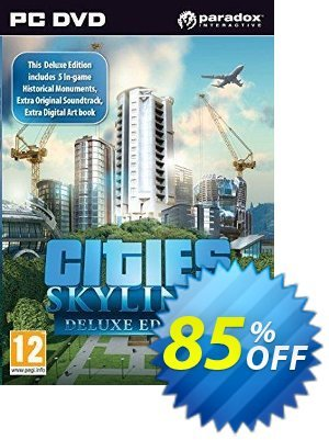 Cities Skylines Deluxe Edition PC/Mac Coupon discount Cities Skylines Deluxe Edition PC/Mac Deal - Cities Skylines Deluxe Edition PC/Mac Exclusive offer for iVoicesoft