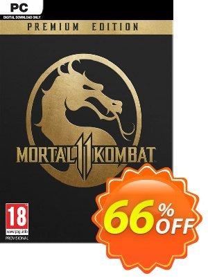 Mortal Kombat 11 Premium Edition PC Coupon discount Mortal Kombat 11 Premium Edition PC Deal. Promotion: Mortal Kombat 11 Premium Edition PC Exclusive offer for iVoicesoft
