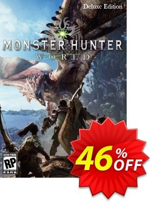 Monster Hunter World Deluxe Edition PC discount coupon Monster Hunter World Deluxe Edition PC Deal - Monster Hunter World Deluxe Edition PC Exclusive offer for iVoicesoft