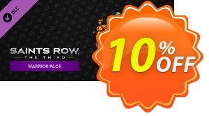 Saints Row The Third Warrior Pack PC 優惠券,折扣碼 Saints Row The Third Warrior Pack PC Deal,促銷代碼: Saints Row The Third Warrior Pack PC Exclusive offer for iVoicesoft