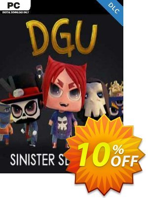 DGU Sinister Semester PC 優惠券,折扣碼 DGU Sinister Semester PC Deal,促銷代碼: DGU Sinister Semester PC Exclusive offer for iVoicesoft