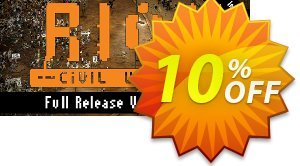 RIOT Civil Unrest PC 優惠券,折扣碼 RIOT Civil Unrest PC Deal,促銷代碼: RIOT Civil Unrest PC Exclusive offer for iVoicesoft