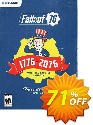Fallout 76 Tricentennial Edition PC (AUS/NZ) discount coupon Fallout 76 Tricentennial Edition PC (AUS/NZ) Deal - Fallout 76 Tricentennial Edition PC (AUS/NZ) Exclusive offer for iVoicesoft