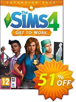 The Sims 4 - Get To Work PC / Mac discount coupon The Sims 4 - Get To Work PC / Mac Deal - The Sims 4 - Get To Work PC / Mac Exclusive offer for iVoicesoft