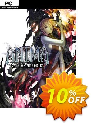 Anima Gate of Memories PC 優惠券,折扣碼 Anima Gate of Memories PC Deal,促銷代碼: Anima Gate of Memories PC Exclusive offer for iVoicesoft