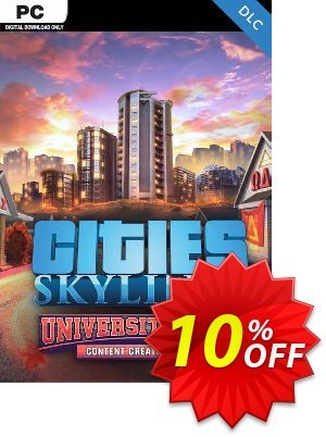 Cities Skylines PC - Content Creator Pack University City DLC discount coupon Cities Skylines PC - Content Creator Pack University City DLC Deal - Cities Skylines PC - Content Creator Pack University City DLC Exclusive offer for iVoicesoft