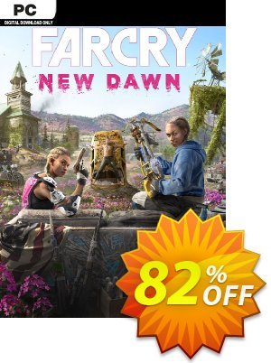 Far Cry New Dawn PC 프로모션 코드 Far Cry New Dawn PC Deal 프로모션: Far Cry New Dawn PC Exclusive offer for iVoicesoft