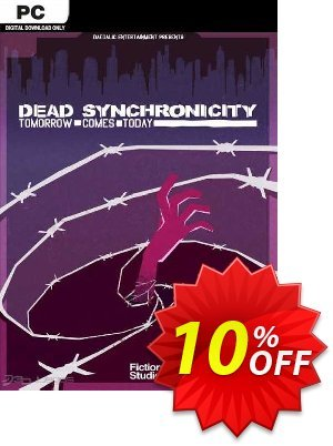 Dead Synchronicity Tomorrow Comes Today PC 優惠券,折扣碼 Dead Synchronicity Tomorrow Comes Today PC Deal,促銷代碼: Dead Synchronicity Tomorrow Comes Today PC Exclusive offer for iVoicesoft