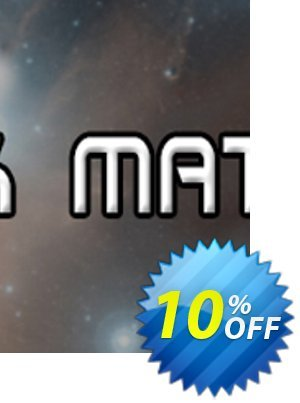 Dark Matter PC Coupon discount Dark Matter PC Deal. Promotion: Dark Matter PC Exclusive offer for iVoicesoft