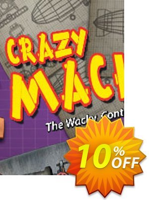 Crazy Machines PC discount coupon Crazy Machines PC Deal - Crazy Machines PC Exclusive offer for iVoicesoft