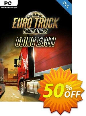 Euro Truck Simulator 2 - Going East DLC PC 優惠券,折扣碼 Euro Truck Simulator 2 - Going East DLC PC Deal,促銷代碼: Euro Truck Simulator 2 - Going East DLC PC Exclusive offer for iVoicesoft
