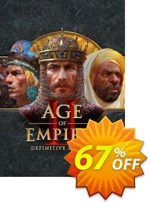 Age of Empires II: Definitive Edition PC 優惠券,折扣碼 Age of Empires II: Definitive Edition PC Deal,促銷代碼: Age of Empires II: Definitive Edition PC Exclusive offer for iVoicesoft