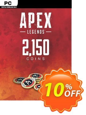 Apex Legends 2150 Coins VC PC discount coupon Apex Legends 2150 Coins VC PC Deal - Apex Legends 2150 Coins VC PC Exclusive offer for iVoicesoft
