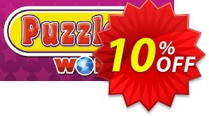 Puzzler World 2 PC discount coupon Puzzler World 2 PC Deal - Puzzler World 2 PC Exclusive offer for iVoicesoft