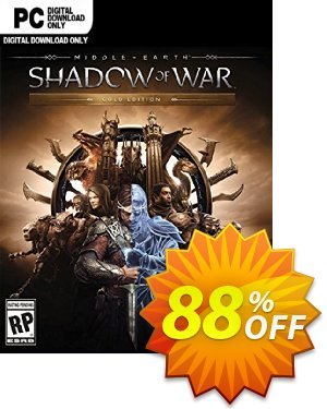 Middle-earth Shadow of War Gold Edition PC 프로모션 코드 Middle-earth Shadow of War Gold Edition PC Deal 프로모션: Middle-earth Shadow of War Gold Edition PC Exclusive offer for iVoicesoft