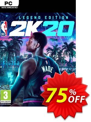 NBA 2K20 Legend Edition PC (EU) Coupon, discount NBA 2K20 Legend Edition PC (EU) Deal. Promotion: NBA 2K20 Legend Edition PC (EU) Exclusive offer for iVoicesoft