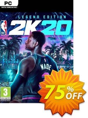 NBA 2K20 Legend Edition PC (EU) 優惠券,折扣碼 NBA 2K20 Legend Edition PC (EU) Deal,促銷代碼: NBA 2K20 Legend Edition PC (EU) Exclusive offer for iVoicesoft