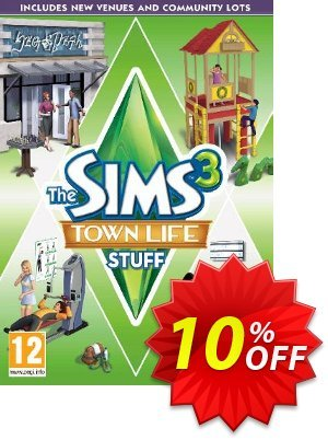 The Sims 3: Town Life Stuff PC/Mac offering discount