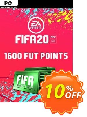 FIFA 20 Ultimate Team - 1600 FIFA Points PC discount coupon FIFA 20 Ultimate Team - 1600 FIFA Points PC Deal - FIFA 20 Ultimate Team - 1600 FIFA Points PC Exclusive offer for iVoicesoft