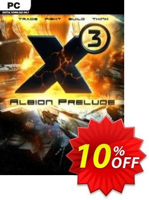 X3 Albion Prelude PC 優惠券,折扣碼 X3 Albion Prelude PC Deal,促銷代碼: X3 Albion Prelude PC Exclusive offer for iVoicesoft