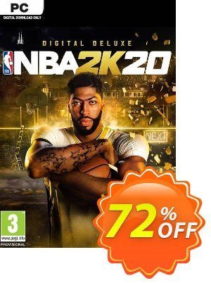 NBA 2K20 Deluxe Edition PC (EU) 優惠券,折扣碼 NBA 2K20 Deluxe Edition PC (EU) Deal,促銷代碼: NBA 2K20 Deluxe Edition PC (EU) Exclusive offer for iVoicesoft