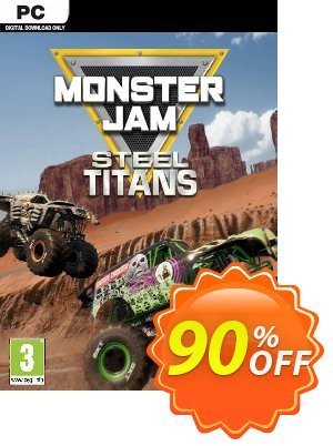 Monster Jam Steel Titans PC discount coupon Monster Jam Steel Titans PC Deal - Monster Jam Steel Titans PC Exclusive offer for iVoicesoft