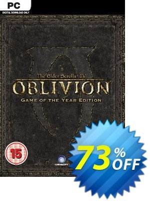 The Elder Scrolls IV 4: Oblivion - Game of the Year Edition PC discount coupon The Elder Scrolls IV 4: Oblivion - Game of the Year Edition PC Deal - The Elder Scrolls IV 4: Oblivion - Game of the Year Edition PC Exclusive offer for iVoicesoft
