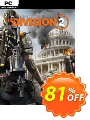 Tom Clancy's The Division 2 PC discount coupon Tom Clancy's The Division 2 PC Deal - Tom Clancy's The Division 2 PC Exclusive offer for iVoicesoft